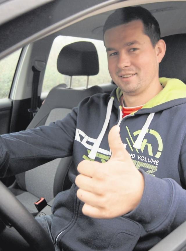 Tomasz Młynarczyk zdążył zredukować swoje konto punktów karnych na starych zasadach i jest spokojniejszy o prawo jazdy