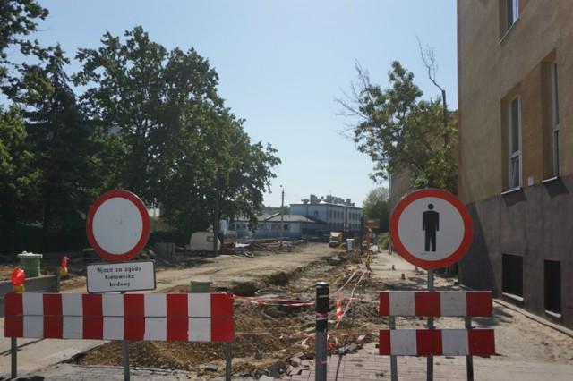 Remonty ulic w centrum Częstochowy