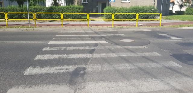 Przejście przez ulicę Wojkowicką zostało zlikwidowane Zobacz kolejne zdjęcia/plansze. Przesuwaj zdjęcia w prawo - naciśnij strzałkę lub przycisk NASTĘPNE
