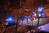 Kierowca BMW szalał w nocy na ul. Kamieńskiego we Wrocławiu. Miał dwa promile [ZDJĘCIA]