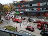 Pożar w wieżowcu przy ulicy Wiosennej w Kielcach. Zapaliły się... kwiatki