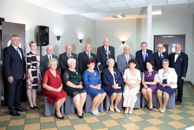 Siedem par z gminy Kwilcz świętuje w tym roku złote gody (15.09.2021).