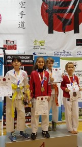 Kolejny udany występ reprezentantów Pleszewskiego Klubu Karate. Młodzi sportowcy wywalczyli siedem medali!