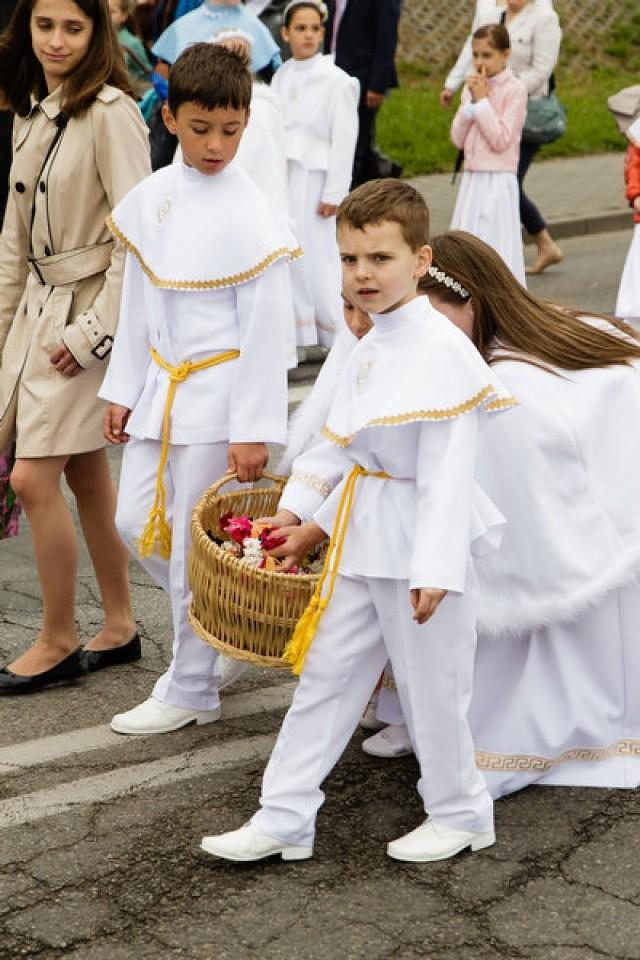 Boże Ciało 2016 w Tychach, w parafii bł. Karoliny