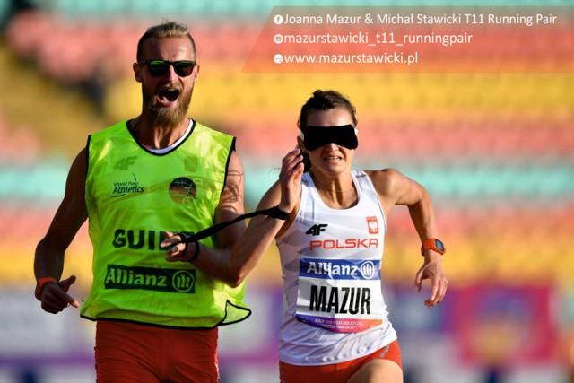 Joanna Mazur i Michał Stawicki