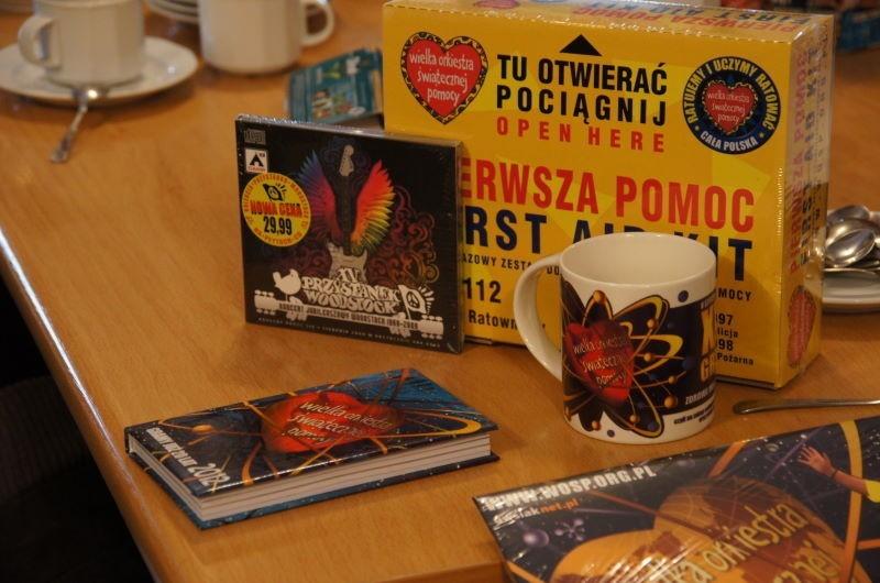 WOŚP 2012 w Koninie: Zlicytują lot samolotem Casa i kolację z Szymonem Bobrowskim