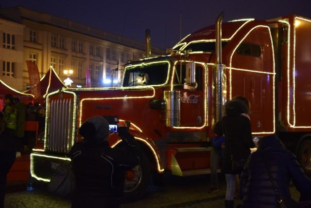 Tłumy białostoczan chciało zobaczyć legendarną ciężarówkę.