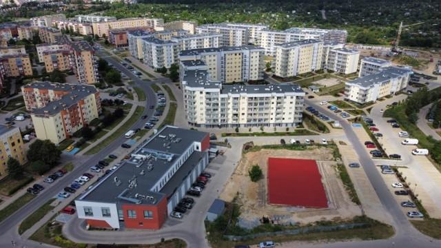 Na osiedlu Górczyn powstaje nowe miejsce do rekreacji.