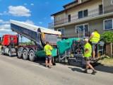 Tu w powiecie wągrowieckim prowadzone są remonty dróg. Jakie prace są aktualnie wykonywane?