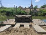 Ciężki sprzęt w okolicach Jasiołki. Ruszyła budowa mostu [FOTO]