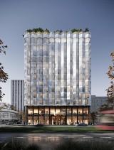 Tak będzie wyglądać hotel PURO przy al. Korfantego w Katowicach [WIZUALIZACJE]. Jak Waszym zdaniem wkomponuje się w centrum Katowic?