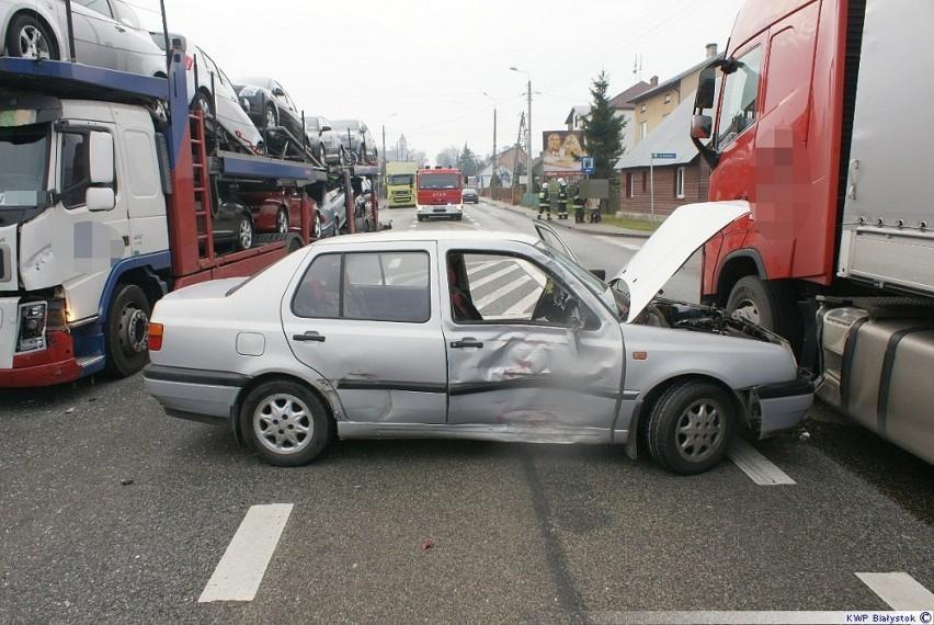 Wypadek Dąbrowa Białostocka. Tam wstępnie ustalili, że...