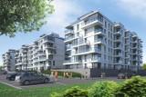Zielona promenada, apartamentowce z widokiem na Wisłę i setki nowych mieszkań.