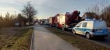 Wypadek w Czechach pod Zduńską Wolą. Zderzyły się cztery samochody ZDJĘCIA AKTUALIZACJA