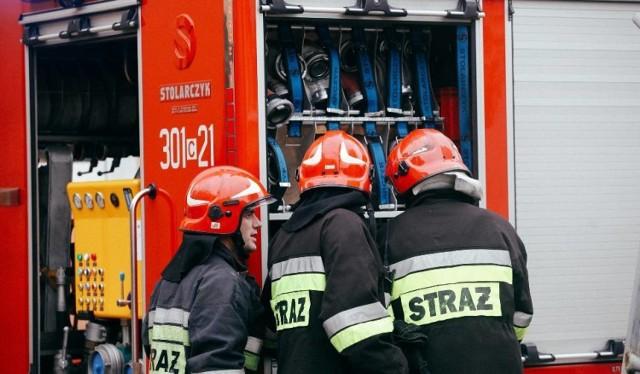 Do rozszczelnienia gazociągu doszło w Czarnym Lesie pod Częstochową
