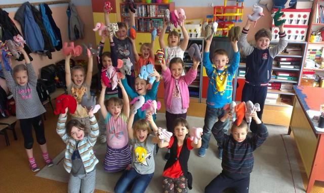 Szkoły z całej Polski włączyły się w akcję Setki Słonie dla Dzieciaków