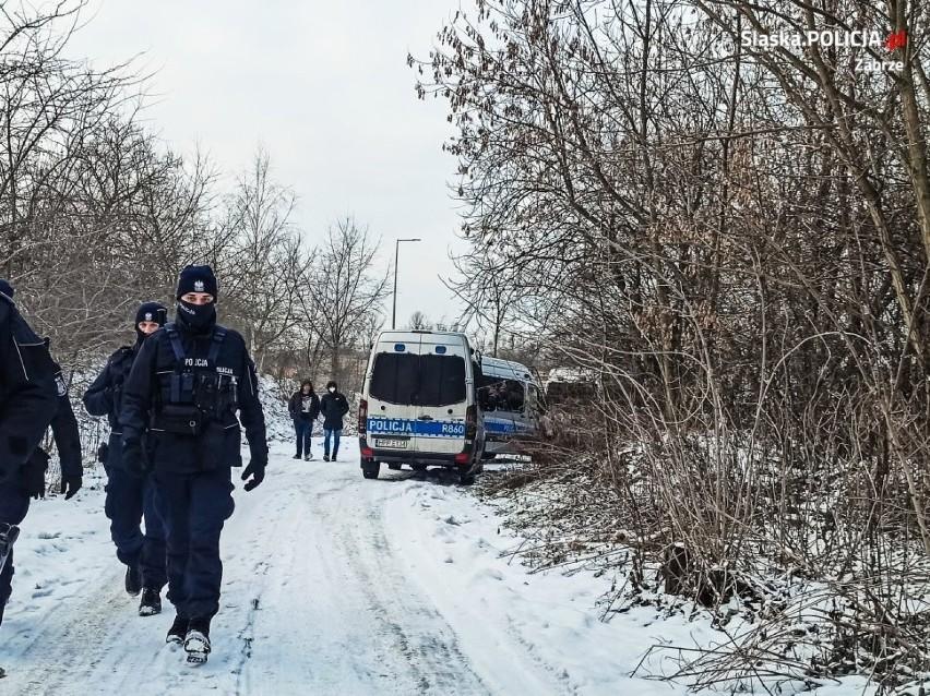 Zabrze: Tragiczny finał poszukiwań 36-latki. Kobieta nie żyje