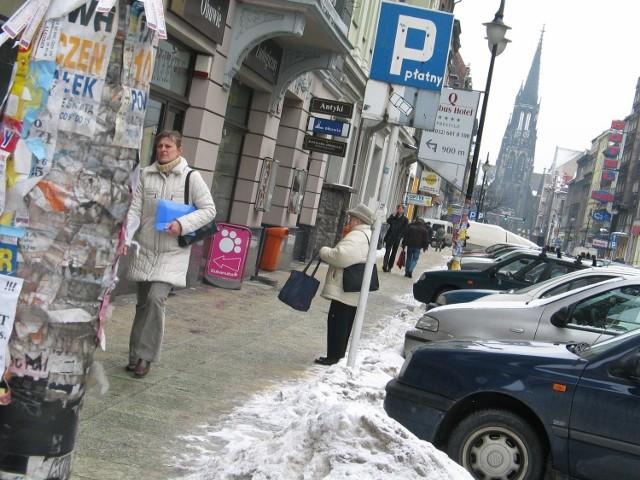Mariacka w Katowicach przed przebudową