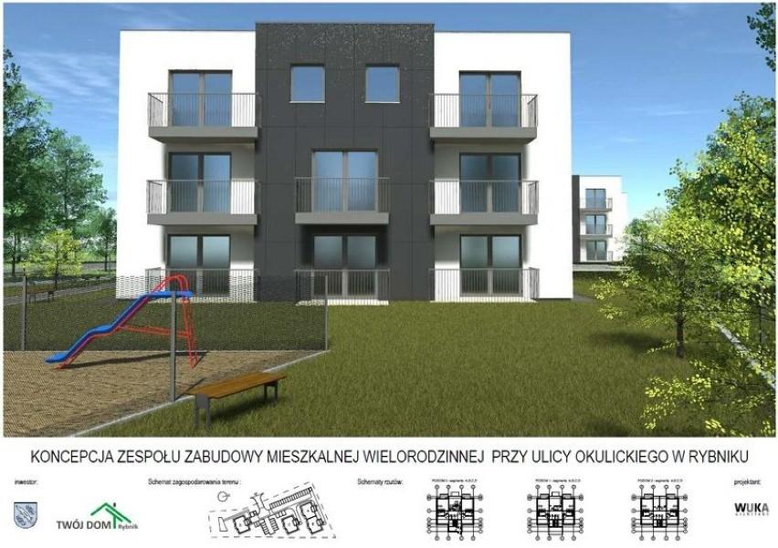 Nowe mieszkania w Rybniku mają powstać w Radziejowie i w...