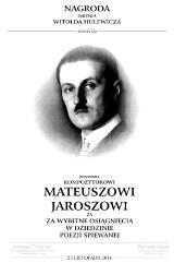 Dziennikarz W24 - Mateusz Jarosz laureatem nagrody W.Hulewicza