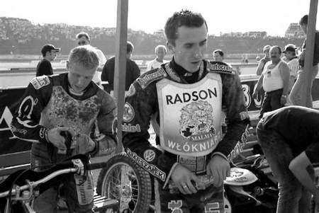 Matej Ferjan (z lewej) i Grzegorz Walasek.