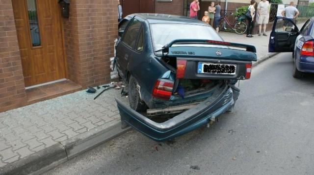 Wypadek w Zdunach