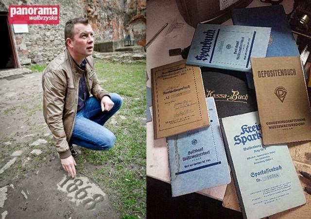 W trakcie remontu domu w gminie Walim natrafiono na skrytkę z książeczkami bankowymi. Łukasz Kazek chce odnaleźć niemiecką rodzinę, które je ukryła i zwrócić dokumenty im lub ich spadkobiercom.