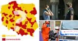 Nowe czerwone strefy w Śląskiem? Zobacz zagrożone miasta i powiaty