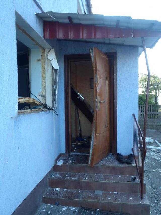Wybuch gazu w Leśnicy