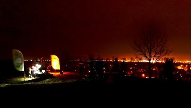 Obserwacje nieba w Łodzi na Górce Śmieciowej