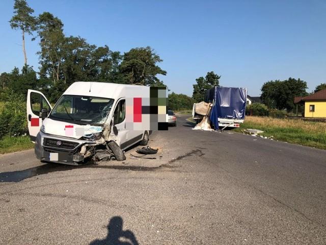 Wypadek w miejscowości Kryńsk w powiecie aleksandrowskim, w gminie Bądkowo.