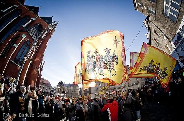 Orszak Trzech Króli 2014 w Wałbrzychu