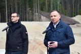 Andrzej Duda i Mateusz Morawiecki z wizytą na Mierzei [ZDJĘCIA]
