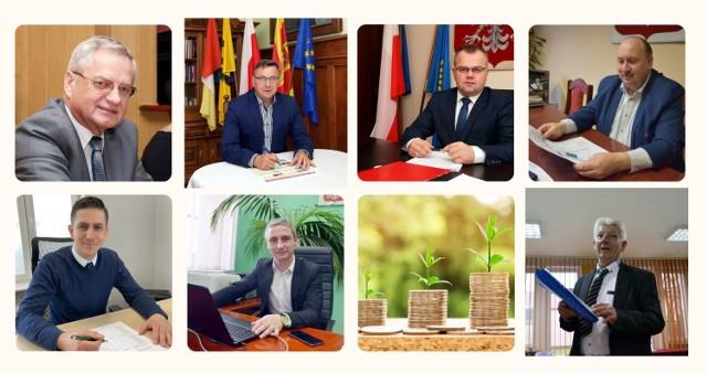 Oświadczenia majątkowe burmistrzów i wójtów z powiatu człuchowskiego