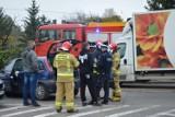 Wypadek w Skierniewicach. Na skrzyżowaniu Piłsudskiego i Kozietulskiego utrudnienia w ruchu [ZDJĘCIA]