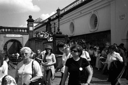 W ostatni weekend maja Jasna Góra tętniła gwarem pielgrzymów. Foto: VIOLETTA GRADEK