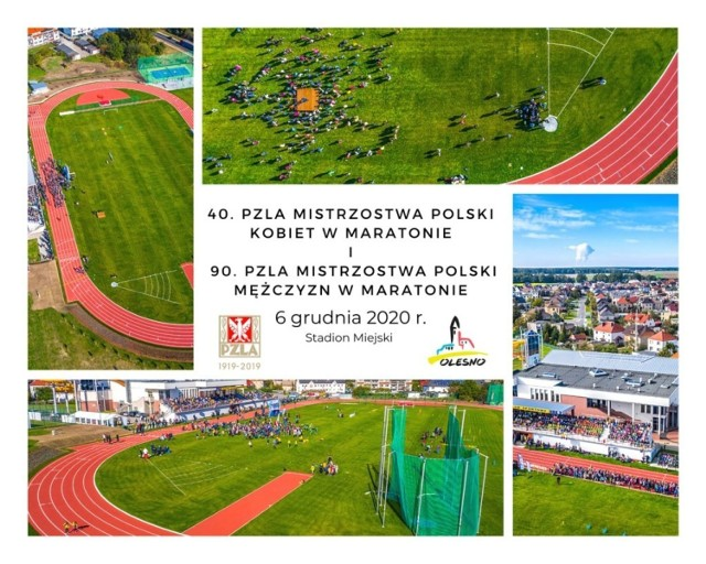 Olesno dosłownie w ostatniej chwili zostało organizatorem Mistrzostw Polski w Maratonie 2020.