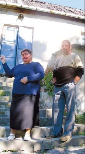 Danuta Baryga i Grzegorz Krawczyk liczą, że zostaną w swoim domu; foto: Marcin Sobocki