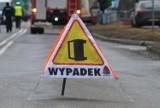 Wypadek na ulicy Bagiennej w Katowicach. Droga jest zablokowana. Są objazdy