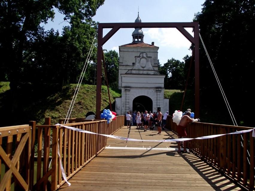 Otwarcie mostu zwodzonego. Oficjalne otwarcie przystani wodnej - 29 lipca 2018 r.