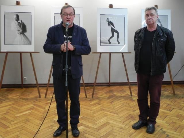 Andrzej Łada i Sergiusz Sachno od kilku lat prezentują osiągnięcia studentów Wyższej Szkoły Sztuki i Projektowania w Łodzi.