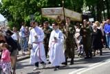 Uroczysta msza święta i procesja Bożego Ciała w Kościele Garnizonowym w Kielcach [DUŻO ZDJĘĆ, WIDEO]