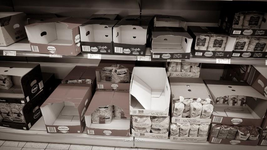 KORONAWIRUS: Krotoszynianie masowo ruszyli na zakupy. Boją się epidemii koronawirusa