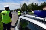W Rogach policja zatrzymała pijanego motocyklistę. Nie miał prawa jazdy
