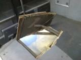 Torowisko zrobiło dziurę w gorzowskim autobusie [ZDJĘCIA]