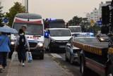 Wypadek w Kielcach. Zderzenie trzech aut na ulicy Warszawskiej. Były duże utrudnienia w ruchu [WIDEO, zdjęcia]