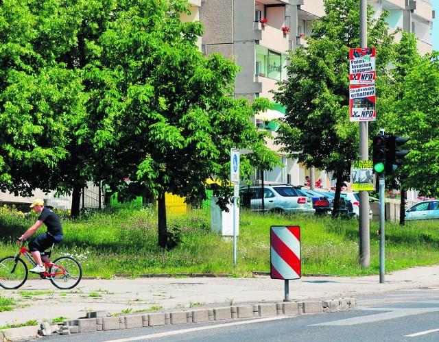Hasła NPD straszyły na ulicznych latarniach w Görlitz od wczesnej wiosny aż do wrześniowych wyborów do Bundestagu