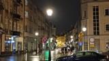 Ulica Zamkowa w Kaliszu z nowym oświetleniem. ZDJĘCIA