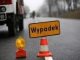 Wypadek w Michałowie pod Zduńską Wolą. Ciężarówka blokowała drogę