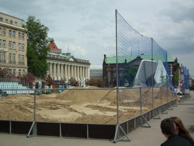 Od środy siatkówka będzie rządzić na Placu Wolności